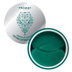 TRIMAY Гидрогелевые лифтинг-патчи со змеиным пептидом  Emerald Syn-Ake Peptide Lifting Eye Patch, 90шт