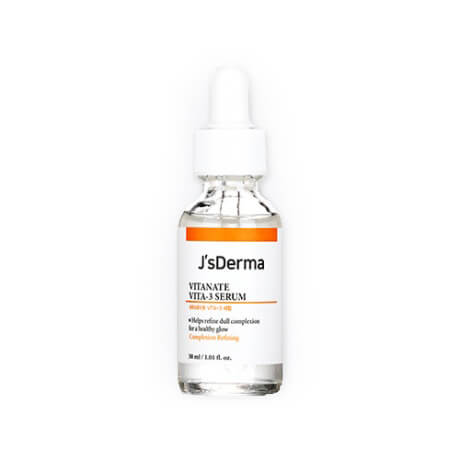 JsDERMA Сыворотка с ниацинамидом для выравнивания тона  Vitanate Vita-3 Serum, 30мл