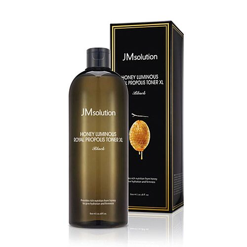 JMsolution Тонер c прополисом и пептидами  Honey luminous royal propolis toner XL, 600мл